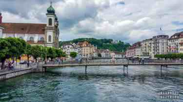 Kapellbrücke, Lucerna - Szwajcaria