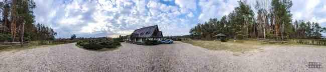 Uroczysko Zaborek - panorama