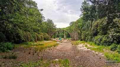 Most kamienny Rakotzbrücke - Saksonia, Niemcy