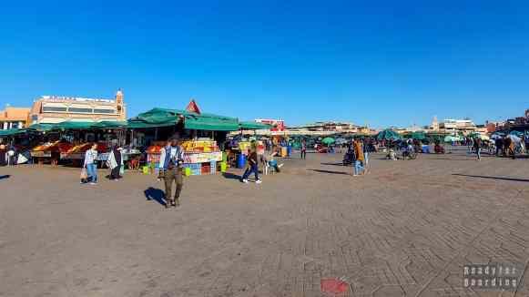 Dżami al-Fana, Marrakesz
