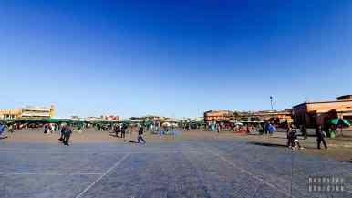 Plac Jama El f'na - Marrakesz, Maroko