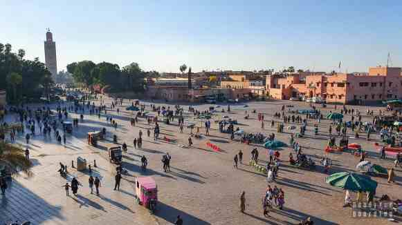 Dżami al Fana, Marrakesz - Maroko
