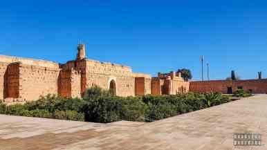Pałac El Badii, Marrakesz - Maroko