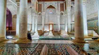 Nekropolia Sadytów, Marrakesz - Maroko