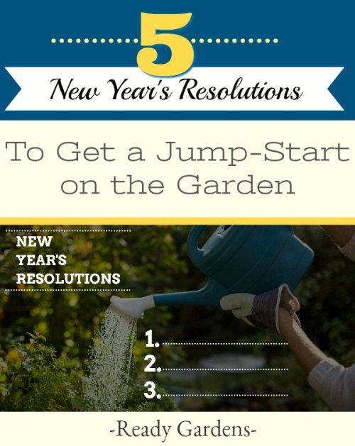 A new year is a fresh start. The slate has been wiped clean and you can put your best foot - or green thumb- forward! Before you put in your next garden, it's important to think about the goals you have for the coming growing season. And, now withthe new year, comes new garden resolutions!