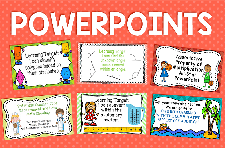 Ready Lessons PowerPoints