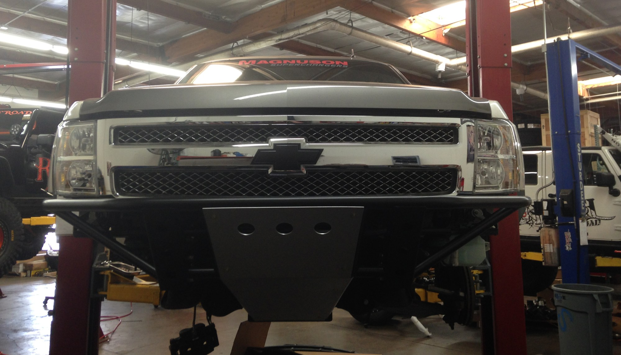 hight resolution of sneak peek of magnuson superchargers upgrade to readylift suspension on 2012 chevy silverado 1500 readylift