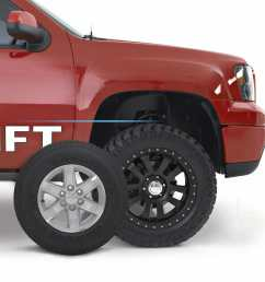 readylift wheel tire calculator [ 2200 x 2200 Pixel ]