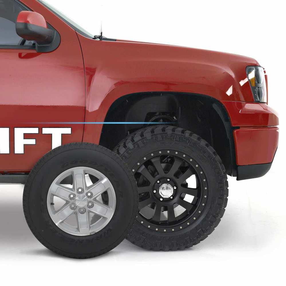 medium resolution of readylift wheel tire calculator
