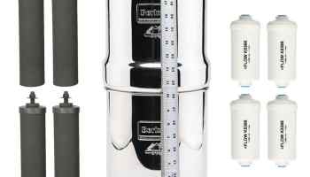 Berkey Stainless Steel Wire Stand with Rubberized Non skid Feet for