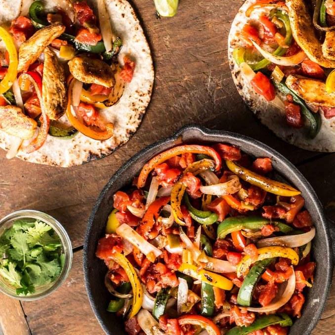 Easy Chicken Fajitas | Ready Set Eat