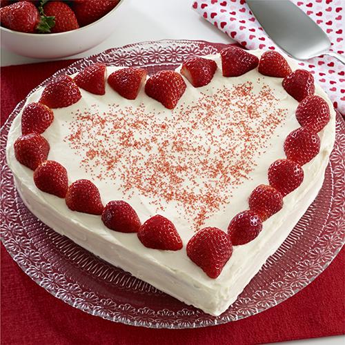 Strawberries And Cream Cake Ready Set Eat