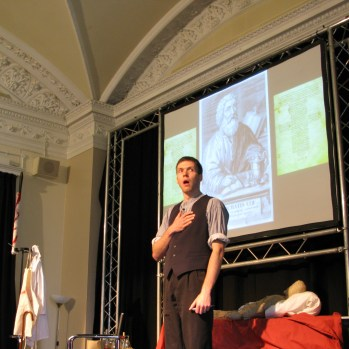 Dr Death at the Cheltenham Science Festival