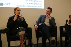 Level Up Human- At the Royal Insitution with Simon Watt, Timandra Harkness, James Logan and Amy Howerska
