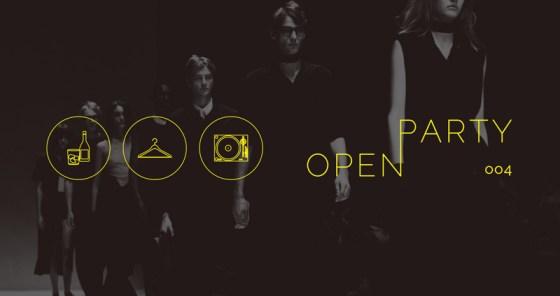 若者のカルチャーが生まれる場×ファッション業界と繋がる場「OPEN PARTY 004」が開催