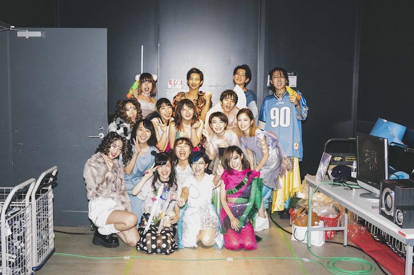 京都産業大学「浮世絵師」が11月3日と4日にファッションショーを開催。テーマは「四季」
