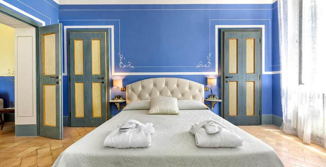villa collepere, suite blu