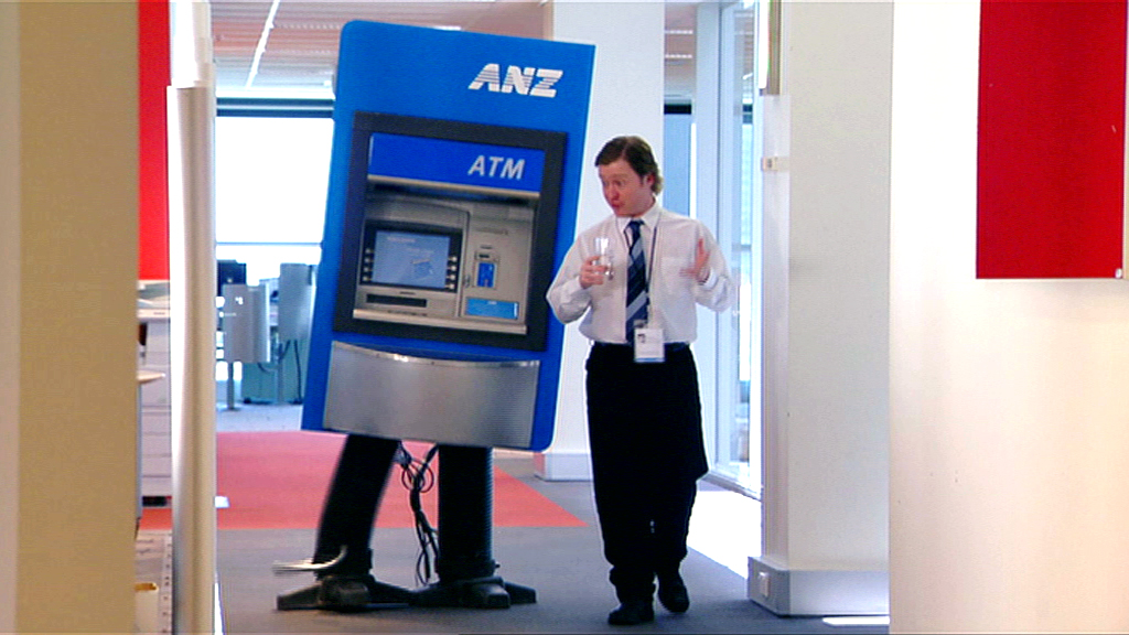 ANZ-A Very  diff bank