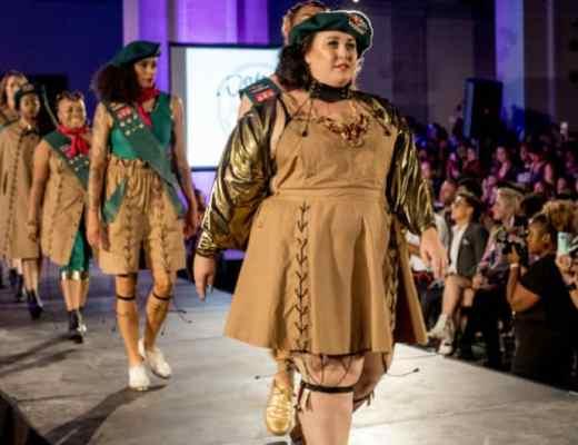 dapperQ NYFW show, diversity in fashion