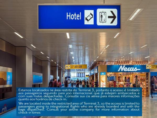 Tryp Transit Hotel Sao Paulo Airport Terminal 3 4