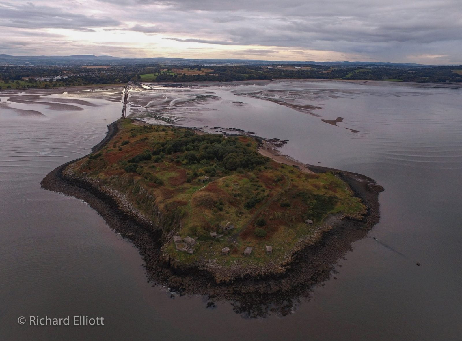 cramond island edinburgh scotland