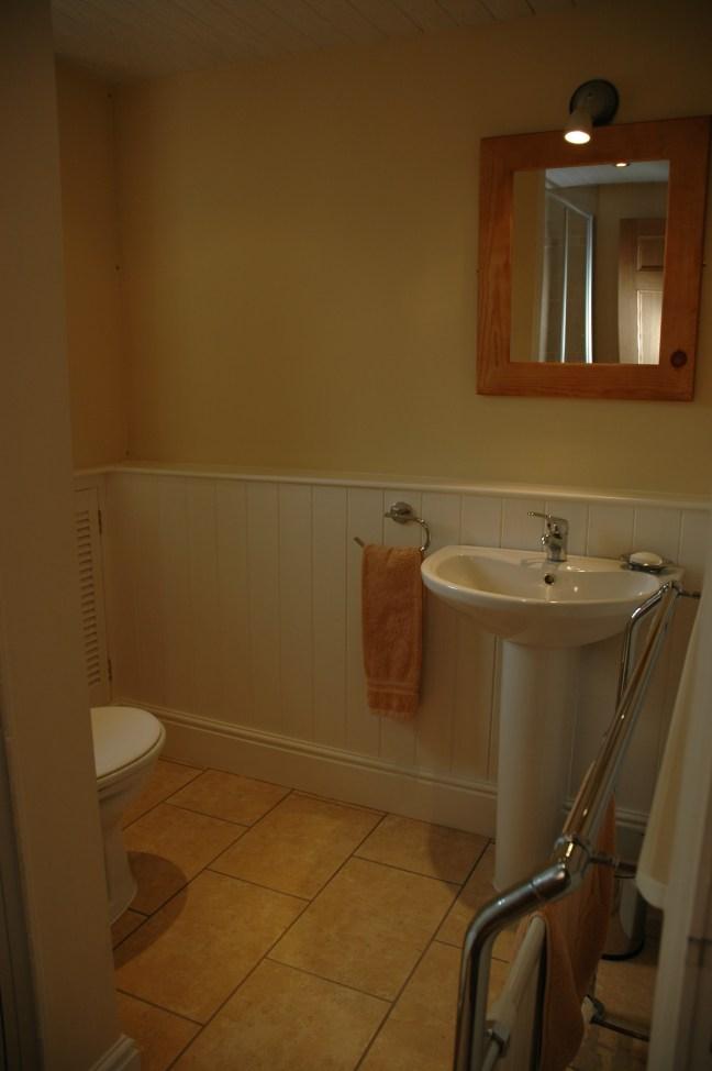Ground floor bedroom's bathroom
