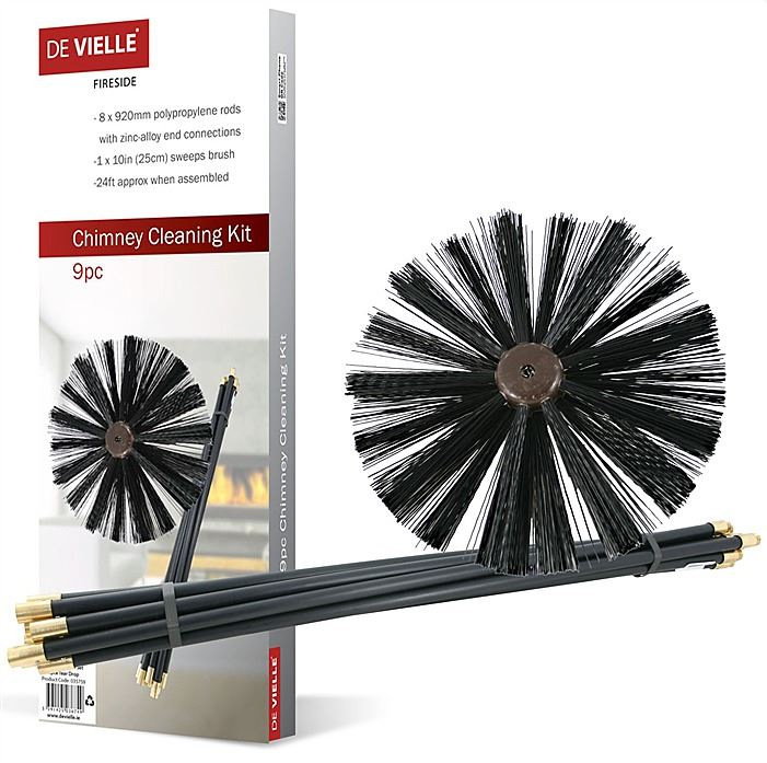Chimney Cleaning Brush Rods Sweep Rod Sweeping Stove
