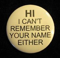 do you need help remembering names?