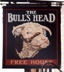 pub sign (The Bull's Head)