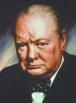 Overcoming dyslexia and the fact that he hated school helped Winston Churchill become successful