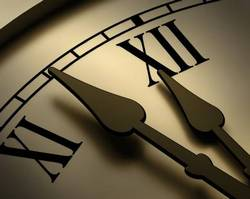 clock ... ticking away your life ... so organise your time!