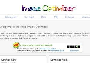 Image Optimizer - free software you 'll find useful