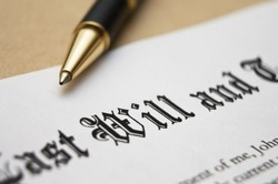 preparing a will can help you organise your household