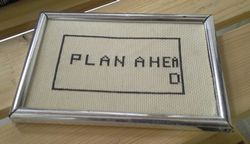 Plan ahead and organise your household