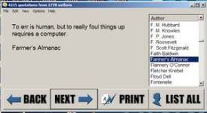 Notable Quotables - Motivational software