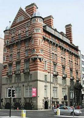 Albion House, former home of the White Star Line, owners of Titanic