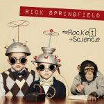 RICH SPINGFIELD Rocket Science Pochette Album Rock