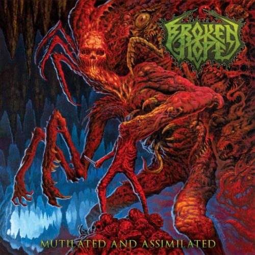 BROKEN HOPE Mutilated Assimilated Album Cover