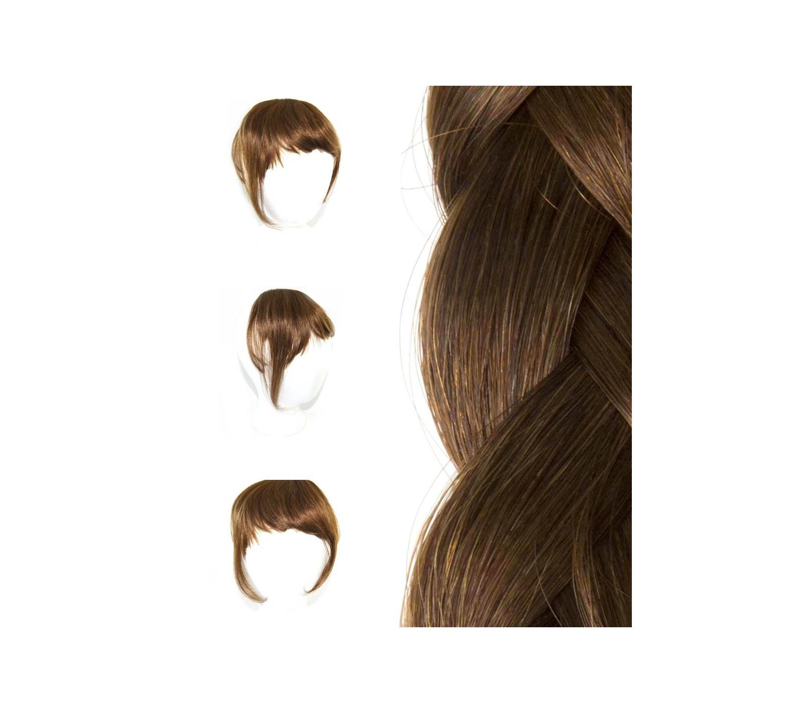 Pony Clip In Extensions aus europischem Echthaar zur Haarverlngerung