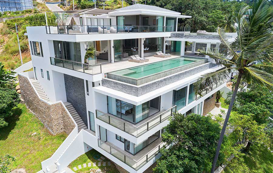 Koh Samui Property For Sale Magnificent 6 Bed Ocean View