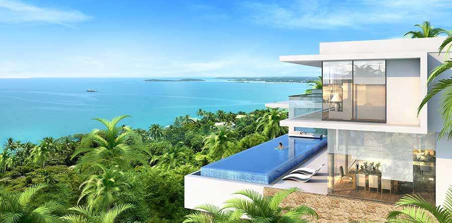 Koh Samui Property For Sale The Wave Ii Koh Samui Villa