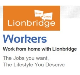 Lionbridge: Work at Home Companies