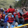 Mariah Wilderness California Rafting Happy rafters, American River