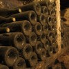 Burgundy On A Plate-Wine & Gastronomy in Burgundy Dusty bottles in wine cellar