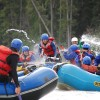 Alberta's Best Rafting at Wild Blue Yonder Water Fights on the Smoky River