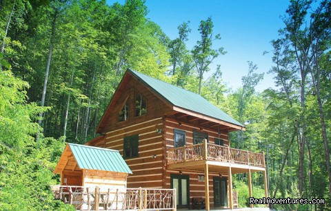 Log Cabin Vacation Rentals Great Smoky Mountain NC Aquone