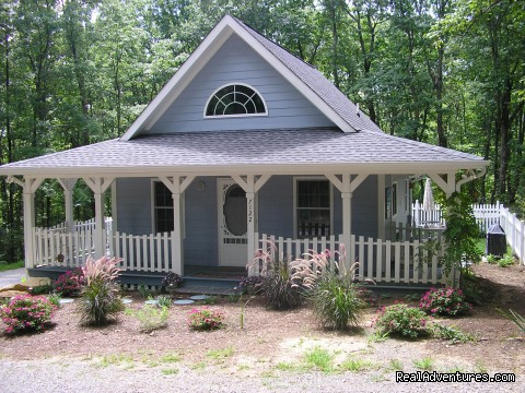 The Blue Cottage Rental  Lookout Mountain GA Rising