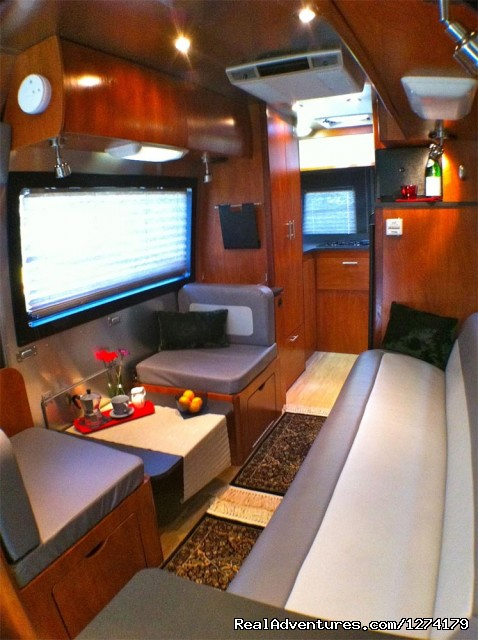 Airstream Interstate Touring Coach Rental RV Acampo