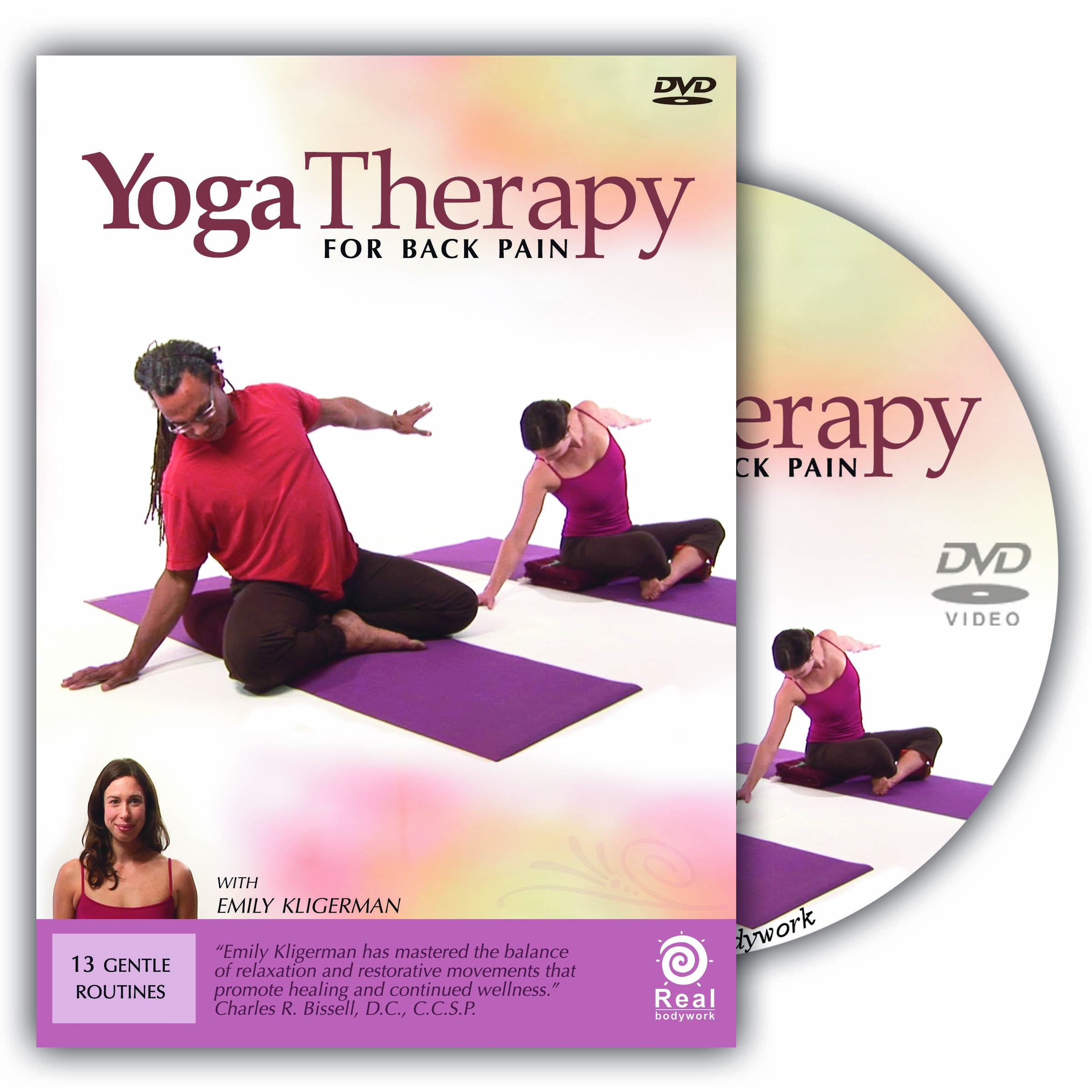 lower back support for chair s shaped dining chairs yoga pain dvd video - real bodywork