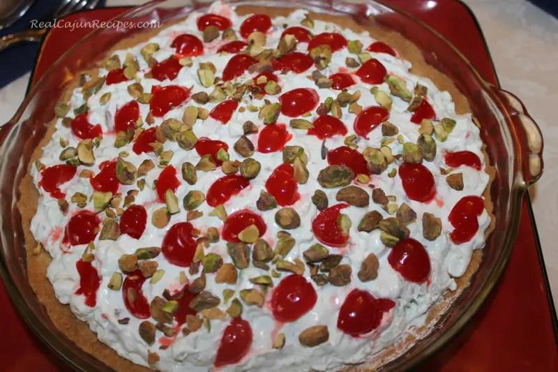 Pistachio Pie Bake Watergate Salad Pie  RealCajunRecipescom la cuisine de maw maw